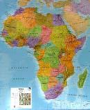 Afrika - Nástìnná mapa