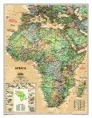 Afrika National Geographic - Nástìnná mapa