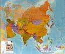Asie - Nástìnná mapa