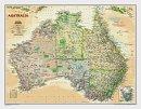 Austrálie National Geographic - Nástìnná mapa