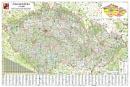 Èeská republika velká 1 : 250 000 - Nástìnná mapa