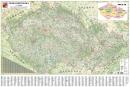 Èeská republika velká 1 : 350 000 - Nástìnná mapa