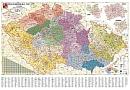Èeská republika PSÈ obøí - Nástìnná mapa