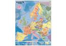 Obøí spedièní mapa Evropy - Nástìnná mapa