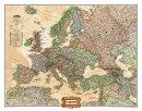 Evropa National Geographic  - Nástìnná mapa