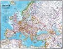 Evropa National Geographic modrá  - Nástìnná mapa