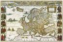 Historická mapa Evropy - Nástìnná mapa