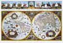 Historická mapa svìta - Nástìnná mapa
