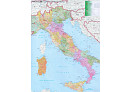 Spedièní mapa Itálie - Nástìnná mapa