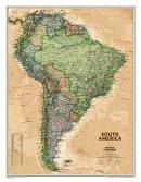 Jižní Amerika National Geographic - Nástìnná mapa