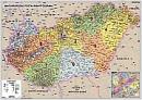 Spedièní mapa Maïarska - Nástìnná mapa