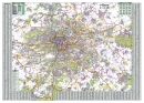 Praha - Nástìnná mapa