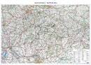 Silnièní mapa Slovenské republiky - Nástìnná mapa