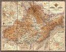 Morava a Slezsko, 1888 - Nástìnná mapa