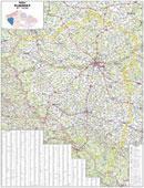 Plzeòský kraj - Nástìnná mapa