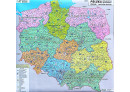 Spedièní mapa Polska - Nástìnná mapa