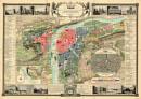 Prag - Praha, 1847 - Nástìnná mapa