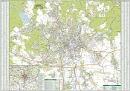 Brno - Nástìnná mapa