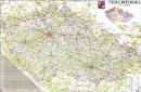 Èeská republika 1:330 000 - Nástìnná mapa