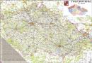 Èeská republika 1:440 000 - Nástìnná mapa