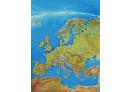 Panoramatická mapa Evropy - Nástìnná mapa