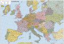 Silnièní mapa Evropy - Nástìnná mapa