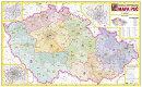 Èeská republika - PSÈ - Nástìnná mapa