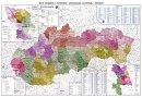 Administrativní mapa Slovenské republiky - Nástìnná mapa